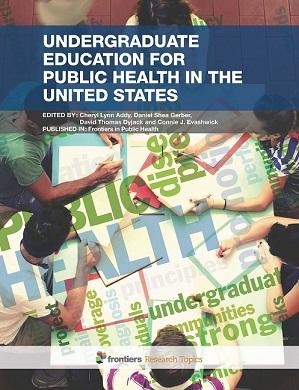 Undergraduate Education for Public Health in the United States eBook